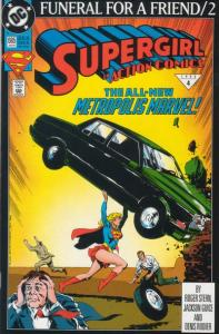Dc Comics Action Comics #685 and #686 Funeral for a Friend Supergirl