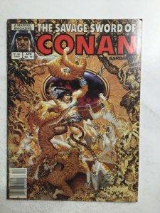 The Savage Sword Of Conan April No.111 Magazine Very Fine Vf 8.0 Marvel