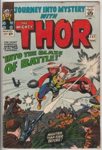 Journey into Mystery #117 (Jun-65) VG/FN Mid-Grade Thor