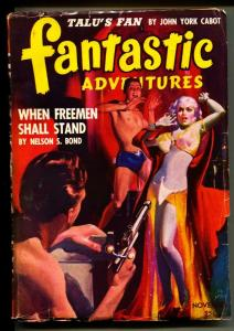 Fantastic Adventures-Pulps-11/1942-Nelson S. Bond-Gerald Vance