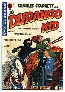 Durgango Kid #18 1952-KKK story-Golden Age Western