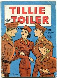 Tillie the Toiler - Dell Four Color Comics #55 1944- Golden Age VG-