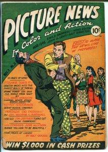 PICTURE NEWS #3 1946-FRANK SINATRA-FDR-JUNE ALLYSON-BENNY GOODMAN-good