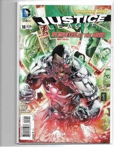JUSTICE LEAGUE #18 - NEW 52 - NM/NM+ 1ST APP 7 DEADLY SINS - SHAZAM - MODERN KEY