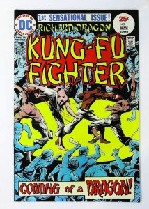 Richard Dragon: Kung-Fu Fighter #1, VF+ (Actual scan)