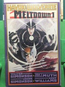 Havok & Wolverine: Meltdown #1
