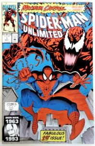 Spider-Man Unlimited #1  Key Venom  NM High Grade  (1993) Marvel Comic Comics