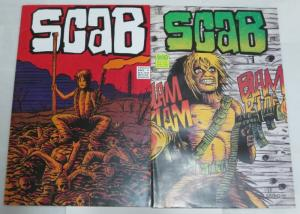 SCAB (1992 FANTACO) 1-2 (3.50 CVR) S.NILES/J.WHITING;