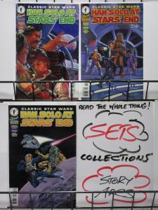 CLASSIC STAR WARS: HAN SOLO AT STARS' END (Dark Horse, 1997) #1-3 VF-NM Goodwin