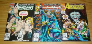 Avengers: Fear the Reaper #1-3 VF/NM complete story - grim reaper 352 353 354