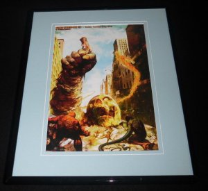Marvel Zombies Ultimate Fantastic Four #30 Framed 11x14 Poster Display