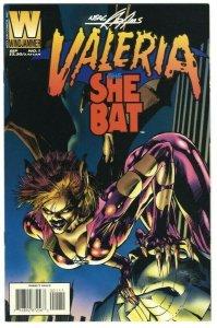 Valeria the She-Bat #1 - Windjammer/Acclaim Comics - September 1995