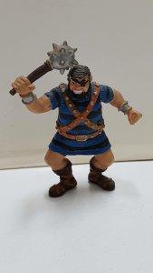 Figura Goliat (de Capitan Trueno) con maza de hierro: de PVC, 10cm.