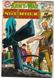 Our Army at War #197 (Sep-68) FN+ Mid-High-Grade Easy Company, Sgt. Rock