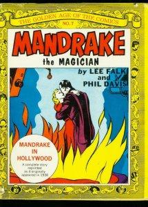 GOLDEN AGE OF THE COMICS MANDRAKE THE MAGICIAN-#7-1970-NOSTALGIC PRESS-HARDBACK