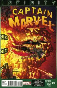 Captain Marvel (8th Series) #16 FN; Marvel | save on shipping - details inside