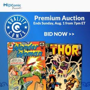 Quality Comix Premium Auction Event #33