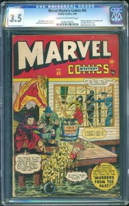 Marvel Mystery Comics #85 (Timely, 1948) CGC 3.5