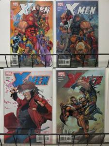 X MEN  (1991) 161-164  Heroes And Villians COMICS BOOK