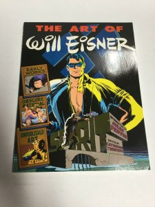 The Art Of Will Eisner SC Softcover Oversized Yronwode Kitchen Sink Press