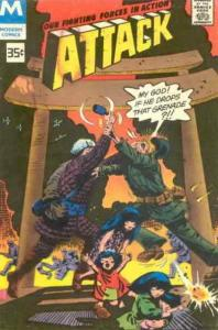 Attack (4th Series) #13 (2nd) FN; Charlton | save on shipping - details inside