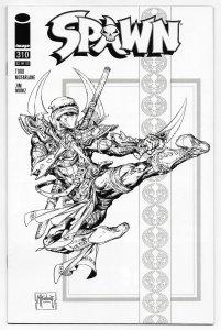 Spawn #310 Mcfarlane 1:5 B&W Variant | 1st Printing (Image, 2020) VF/NM