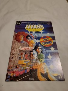 New Teen Titans 6 Near Mint- Cover by George Perez