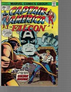 Captain America #177 (Marvel, 1974) - High Grade