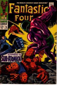 FANTASTIC FOUR #76 VG+/FINE $20.00