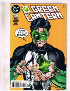 Lot of 6 Green Lantern DC Comic Books #107 108 113 156 157 170 KS10