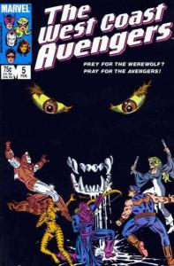 West Coast Avengers (1985 series) #5, NM- (Stock photo)
