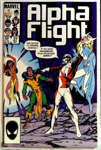 Alpha Flight #27 (1985)
