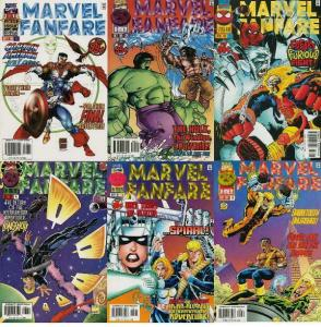 MARVEL FANFARE (1996) 1-6  Captain America & The Falcon
