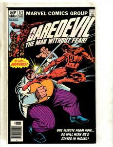 Daredevil # 171 VF- Marvel Comic Book Elektra Bullseye Frank Miller NP9