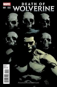 Death of Wolverine #1E VF/NM; Marvel | save on shipping - details inside