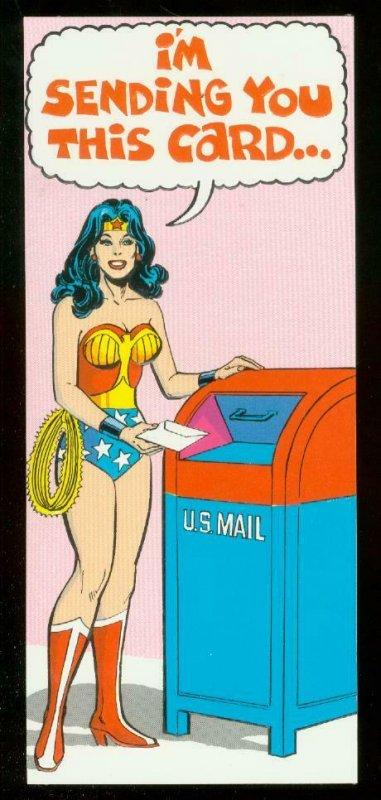 NEAL ADAMS WONDER WOMAN CARD #46 1978 NM