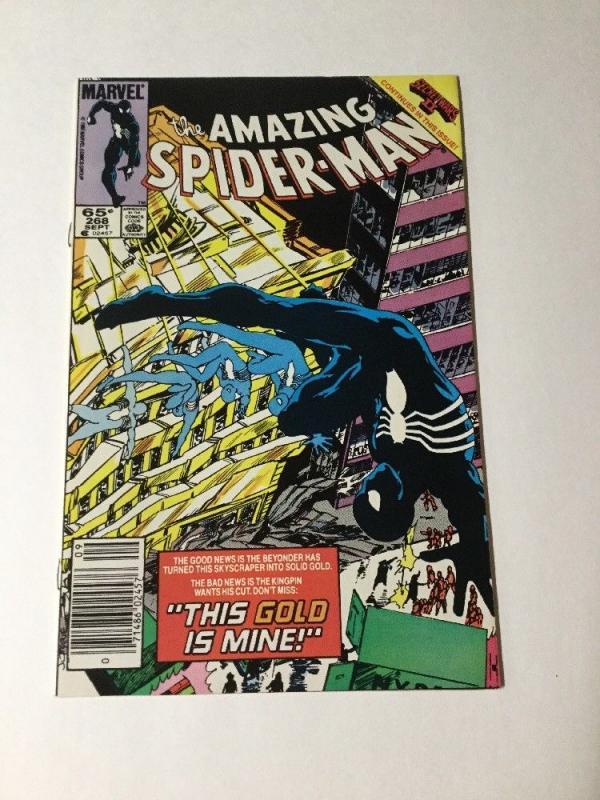 Amazing Spider-Man 268 Vf/Nm  Newsstand Edition