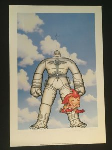 THE BIG GUY AND RUSTY THE BOY ROBOT Poster, Signed by Frank Miller, Geof Darrow