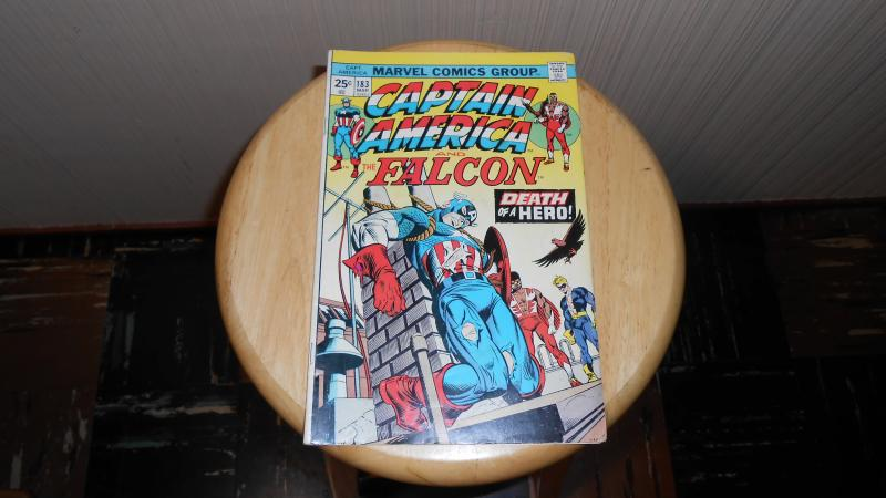 CAPTAIN AMERICA and the FALCON # 183 (MARCH 1974)