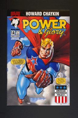 Power and Glory #1A February 1994 by Howard Chaykin Malibu