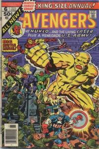 Avengers, The Annual #6 FN; Marvel | save on shipping - details inside