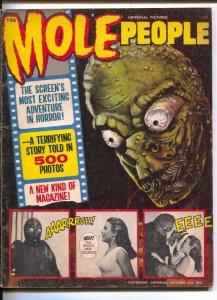 Mole People !964-Warren Fumetti style-film pix & word balloons-John Agar0Cynt...