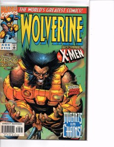 Marvel Comics Wolverine #115 Lady Deathstrike X-Men NM