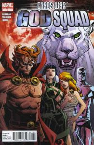 Chaos War: God Squad #1 VF/NM; Marvel | save on shipping - details inside