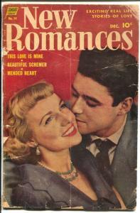 New Romances #19 1953-Standard-Ralph Mayo art-pre-code-G
