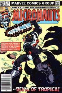 Micronauts (1979 series) #33, Fine+ (Stock photo)