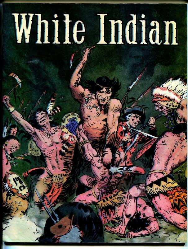 White Indian 1981-Frank Frazetta reprints-B&W interior-VF