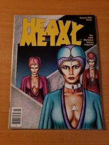 Heavy Metal Vol. 4 #10 ~ NEAR MINT NM ~ January 1981 illustrated Magazine