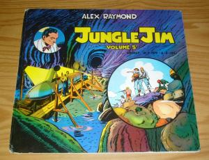 Jungle Jim HC 5 FN- alex raymond hardcover - pacific comics club - opera omnia
