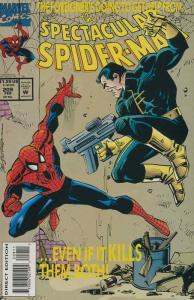 Spectacular Spider-Man, The #209 FN; Marvel | save on shipping - details inside